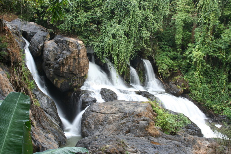 Pha Suer Waterfall, Mae Hong Son, Thailand