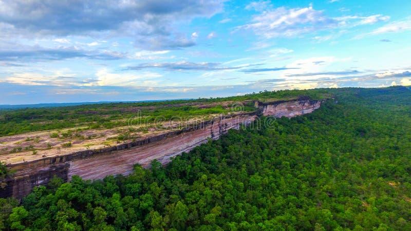 Pha Taem klippanationalpark fotografering för bildbyråer