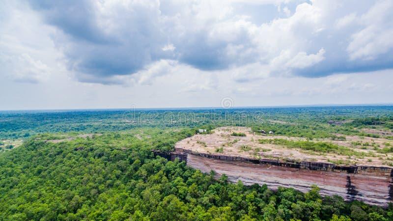 Pha Taem klippanationalpark royaltyfri fotografi