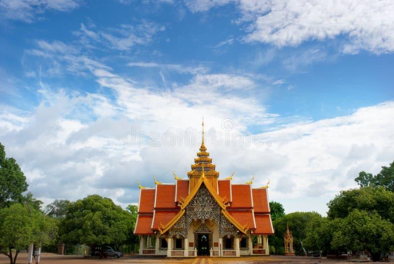 Phabhudtabaht Tak pha świątynia, lampun, Tajlandia fotografia stock