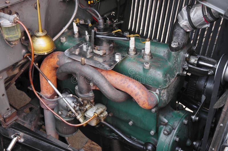 Phaeton 1928 της Ford μηχανών στοκ φωτογραφία με δικαίωμα ελεύθερης χρήσης