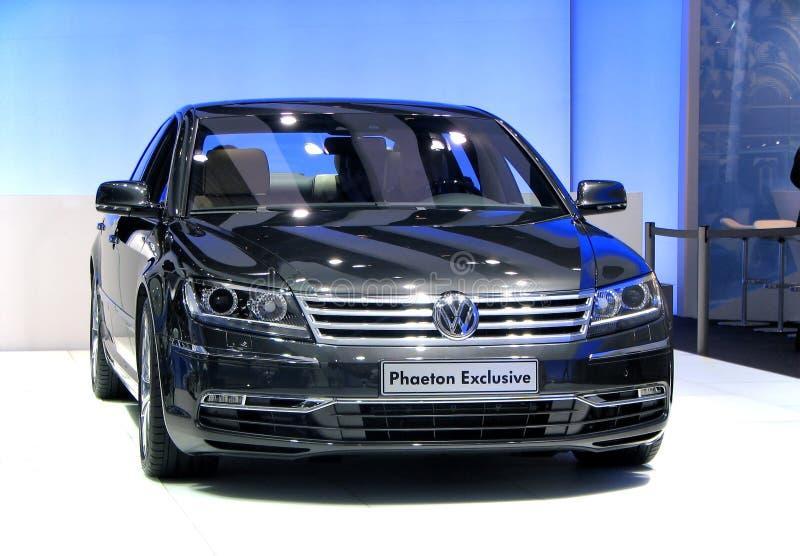 Phaeton de Volkswagen fotografia de stock royalty free