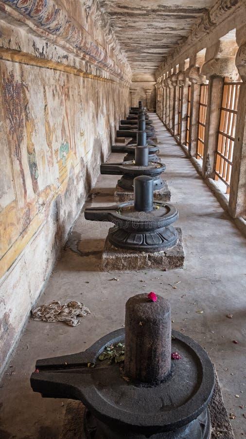 Phallic σύμβολα σε έναν ινδό ναό στοκ εικόνες