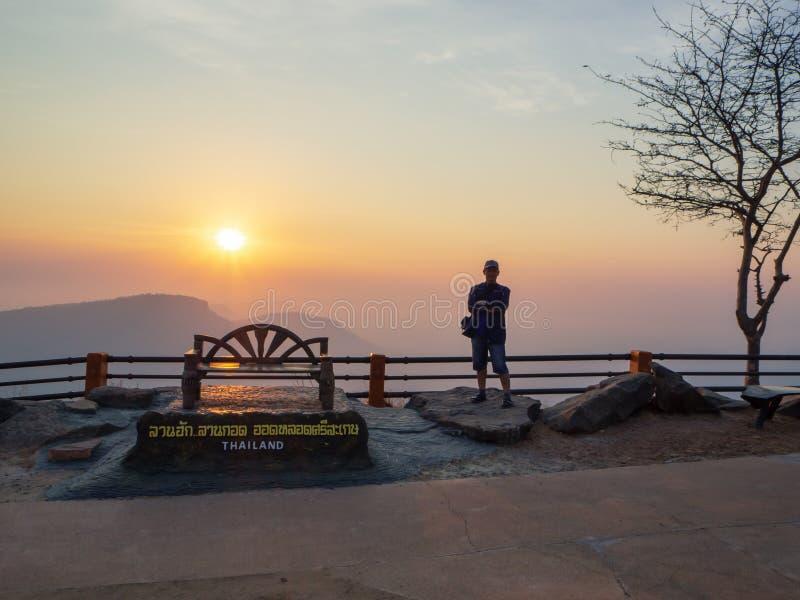 PhaMor E-Daeng dans Sisaket, Tha?lande images stock