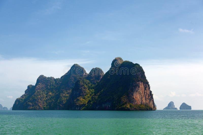 Phang Nga archipelag blisko Phuket, Tajlandia obrazy royalty free