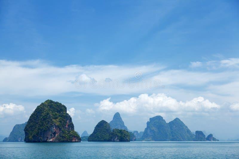 Phang Nga archipelag blisko Phuket, Tajlandia fotografia stock