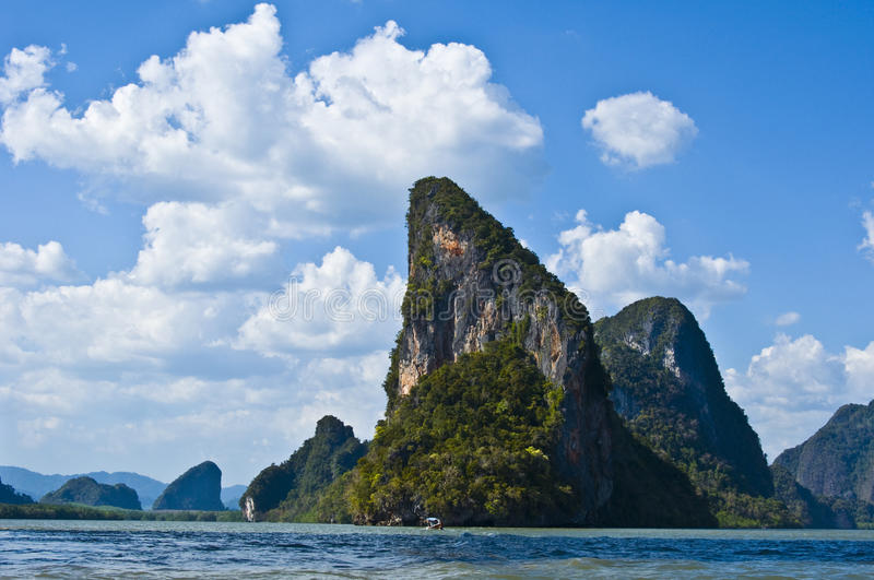 Download Phang Nga Bay stock image. Image of thailand, rock, erosion - 18460595