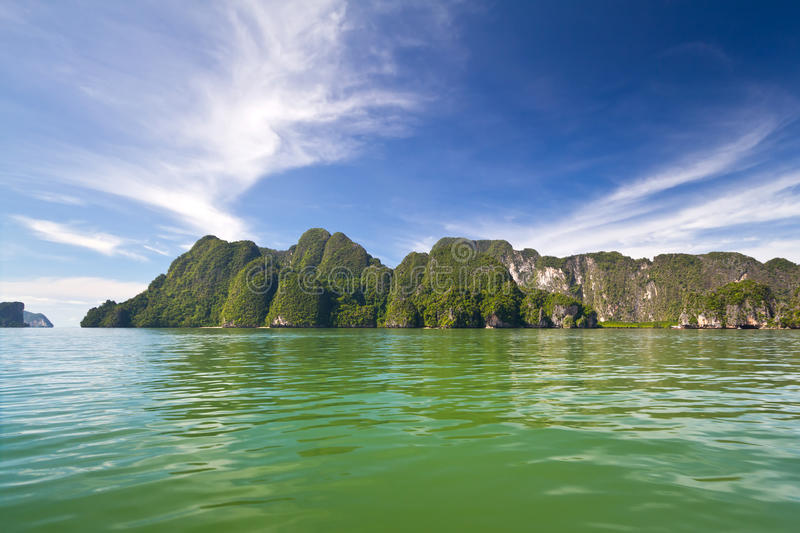 Download Phang Nga Bay From The Boat Stock Image - Image of khao, beach: 27944659