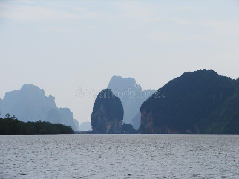 Phang-Nga Bay stock image