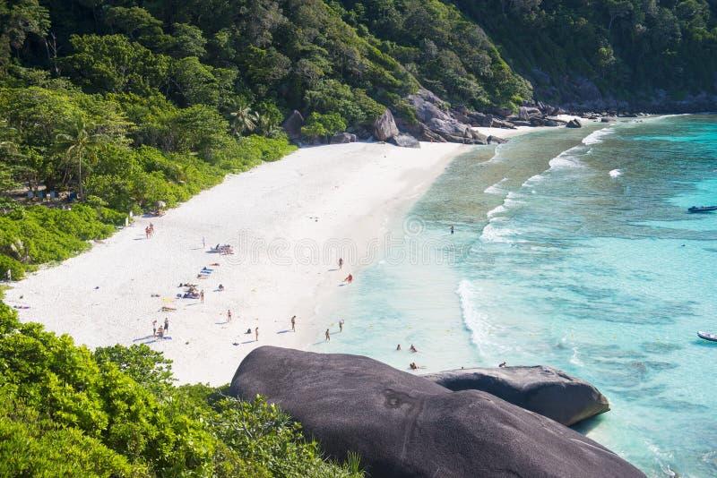 Phang-NGA, THAILAND - November 7, 2015; mooi similan eiland stock fotografie
