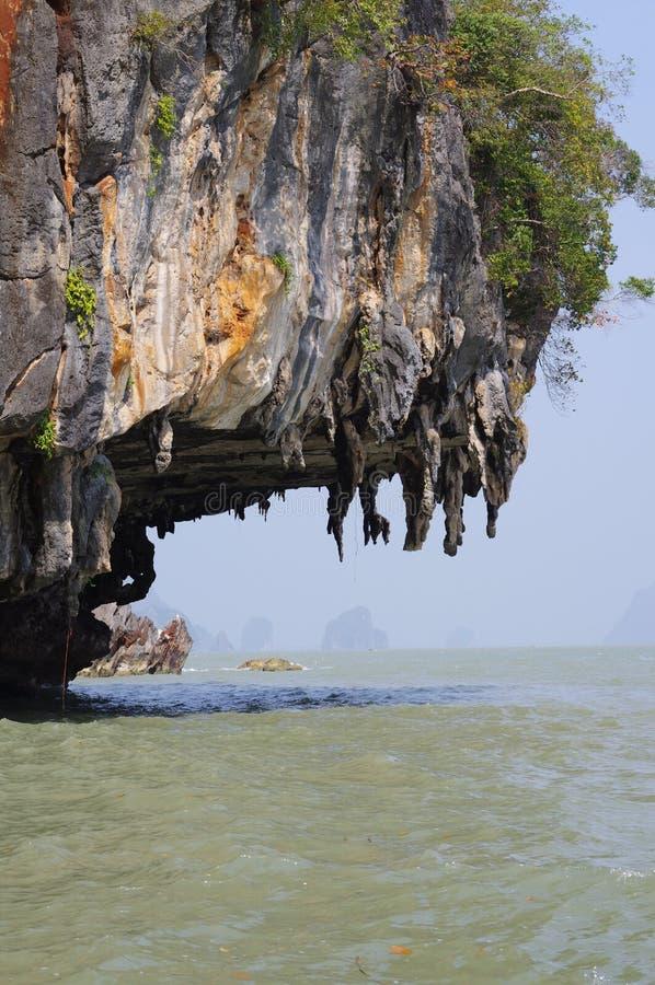 Phangnga-Bucht lizenzfreies stockbild