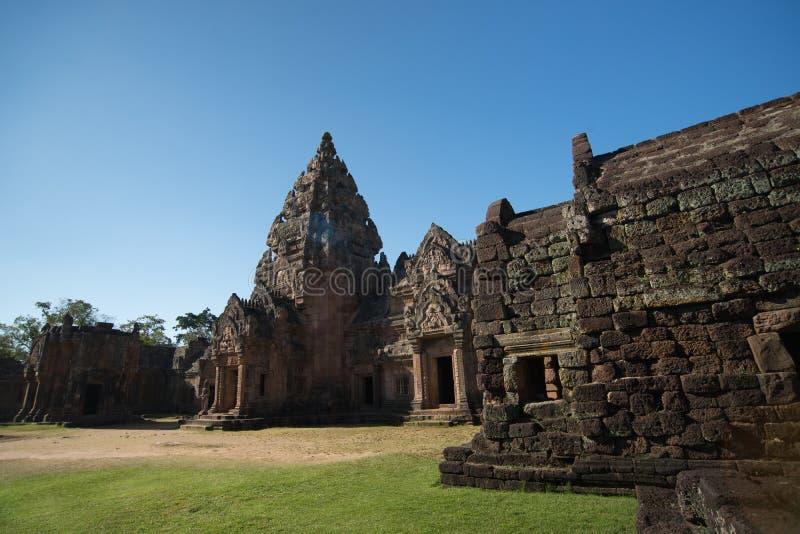 Phanom Dzwonił Dziejowego parka, przyciągania w Tajlandia fotografia royalty free