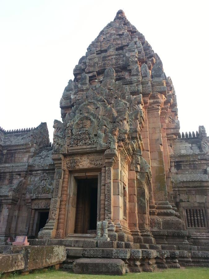 Phanom ringde i Buriram arkivfoto