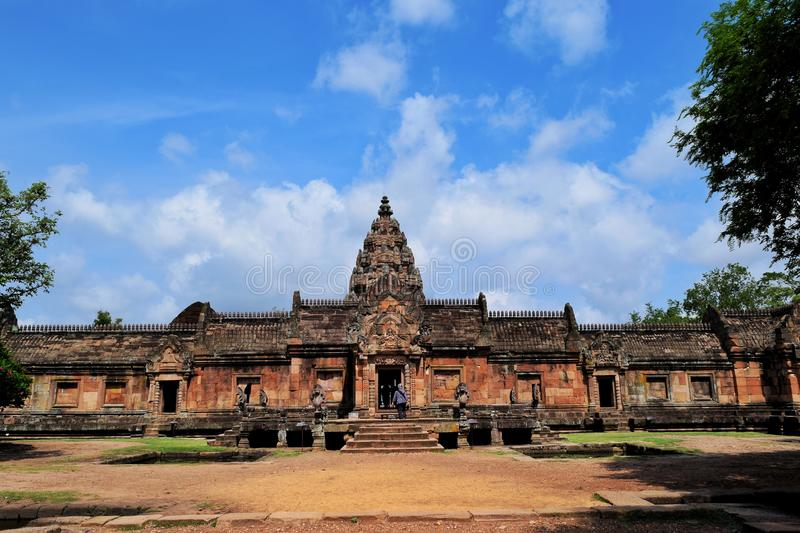 Phanom roong castle stock images