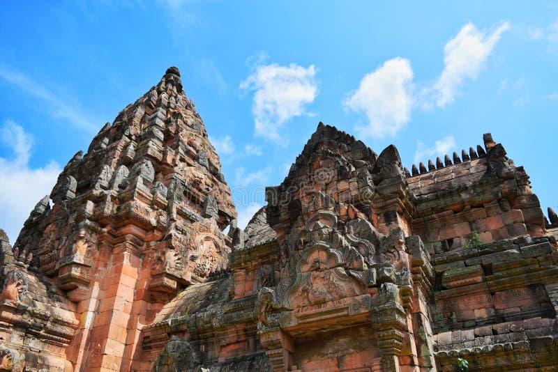 Phanom roong castle stock photo
