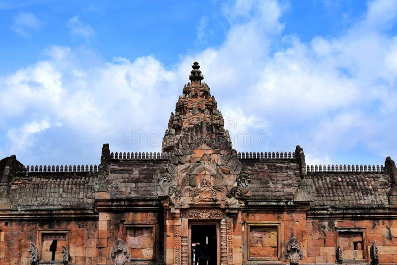 Phanom roong castle royalty free stock photo