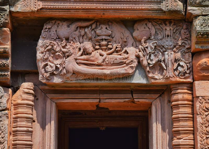 Phanom roong kasteel royalty-vrije stock fotografie