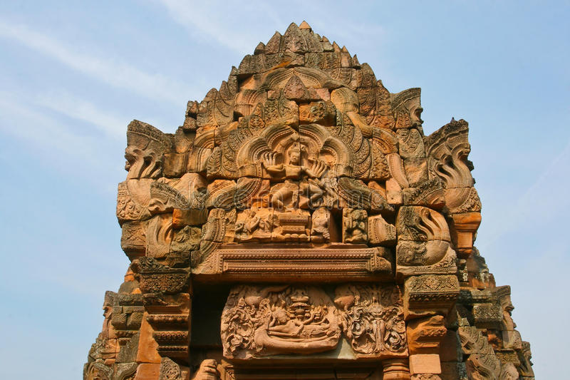 Phanom Roonk ancient history park. In thailand royalty free stock photo