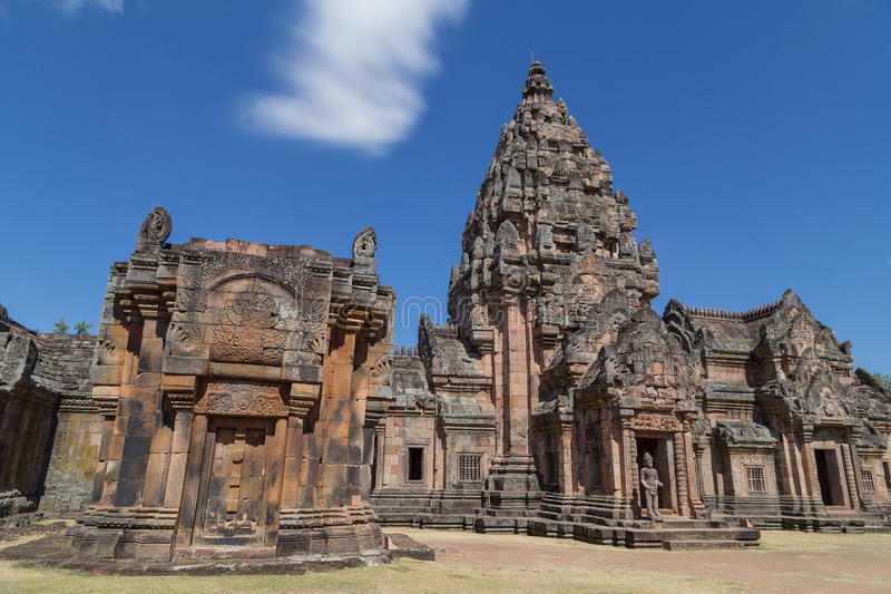 Phanom sonó el castillo histórico imagen de archivo libre de regalías
