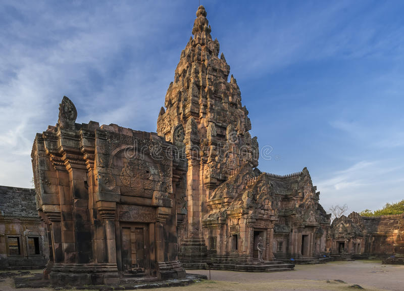 Phanom soou o parque histórico imagens de stock