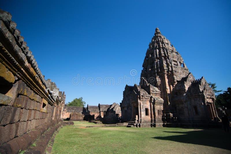 PHANOM SOOU o parque histórico na província de BURURAM, Tailândia foto de stock
