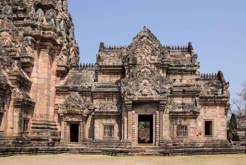 Phanom soou o parque histórico Prasat Hin Phanom soou imagem de stock