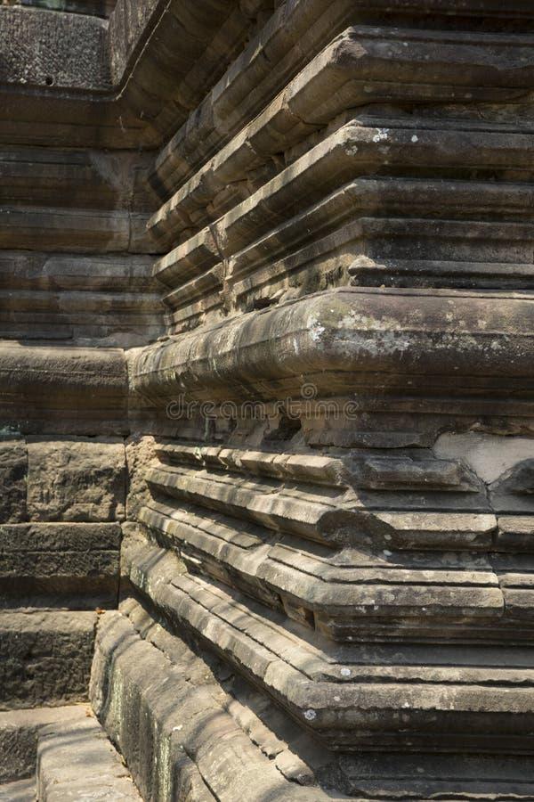 Phanomrung historical park,Burirum,Thailand. Details of sandstone carving at Phanomrung historical park,Burirum,Thailand stock images