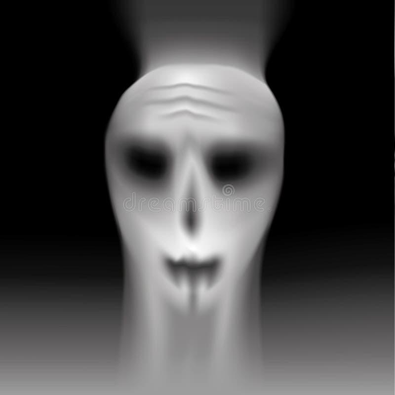 Download Phantom On Black Background. Stock Vector - Image: 34901887