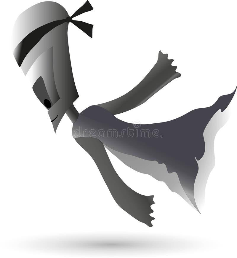 Download Phantom stock illustration. Illustration of casper, white - 40366873