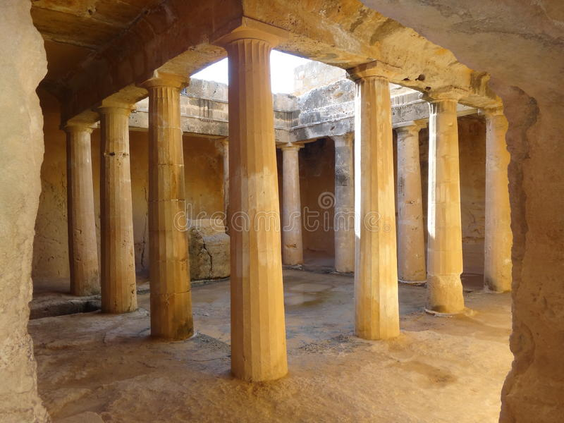 Phaphos in Zypern lizenzfreies stockfoto