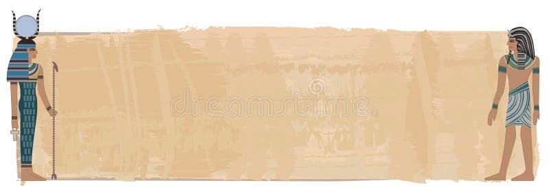 Pharao-Abbildungen stock abbildung