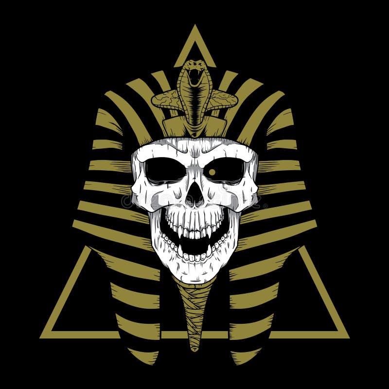 PHARAO głowa zdjęcie royalty free