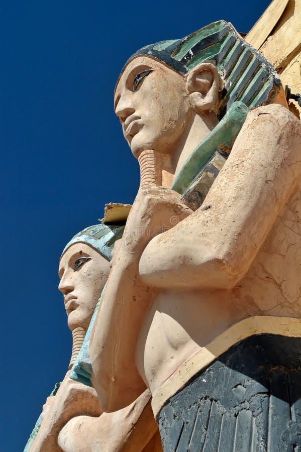 Pharaoh stock image
