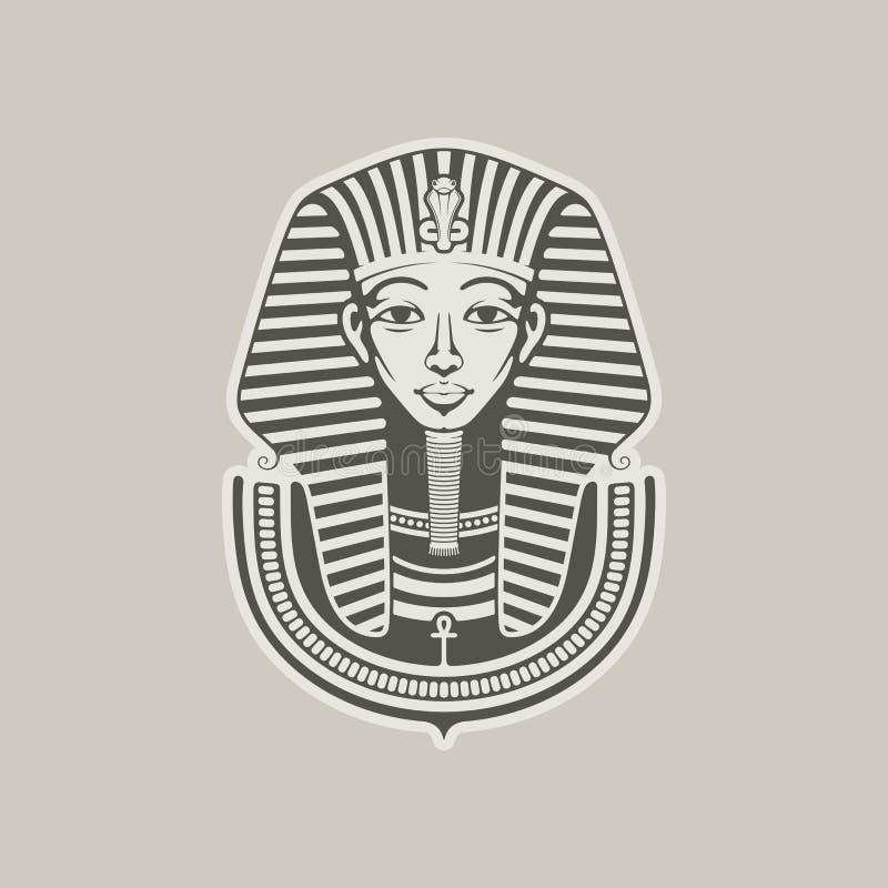 pharaoh ilustração do vetor