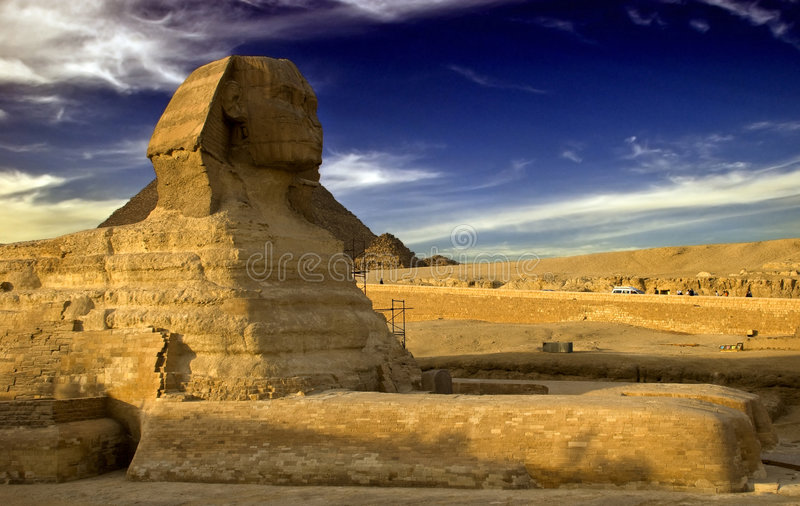 pharaoh obrazy royalty free