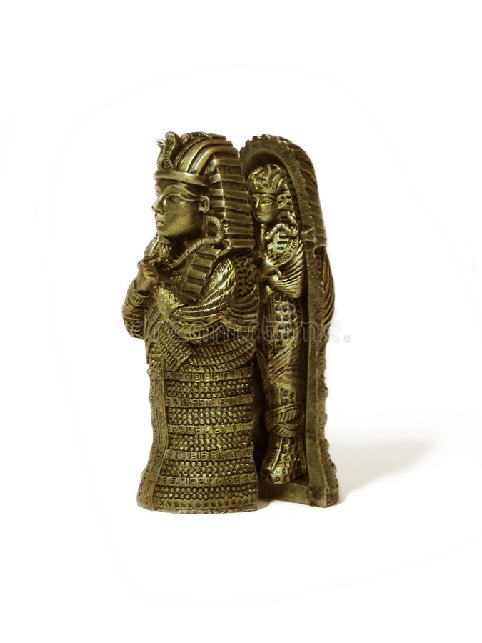 pharaoh figurine стоковая фотография