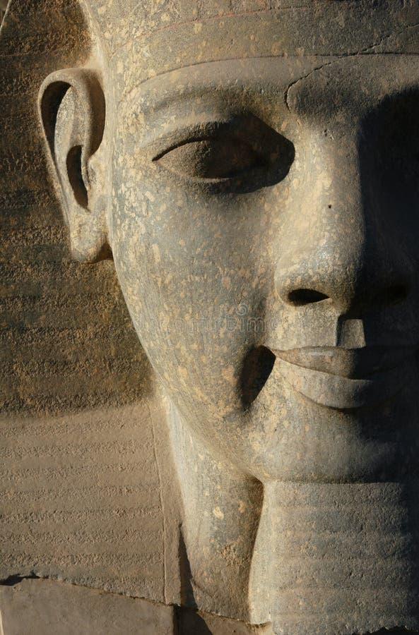Pharaoh Ramses II fotos de stock