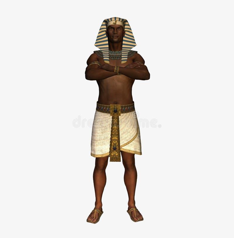 pharaon égyptien illustration de vecteur