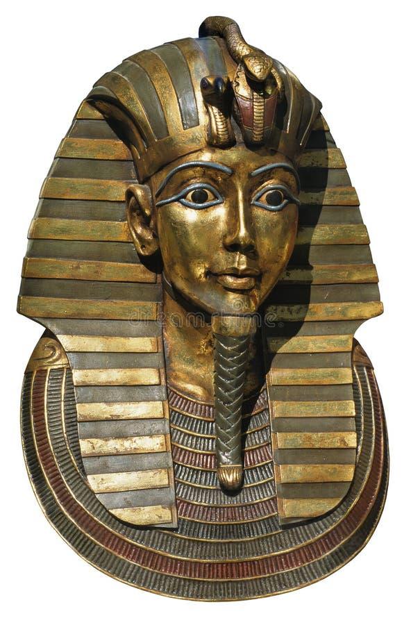 Pharaon mask stock photo