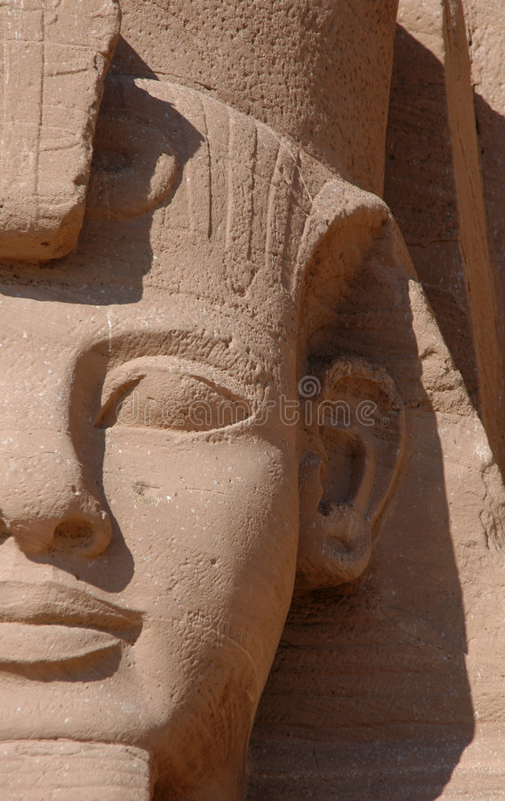Pharaon Ramses II image libre de droits