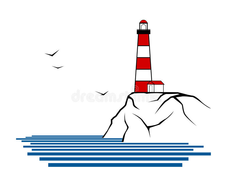 Phare illustration de vecteur