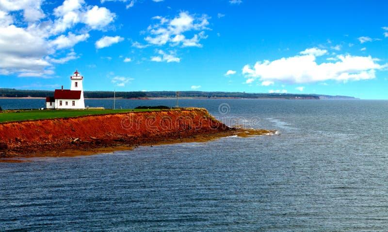 Phare aux bois île, île Prince Edouard, photo libre de droits