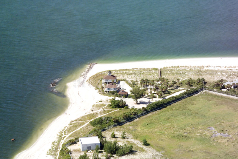 Phare -- Boca grand, la Floride images libres de droits