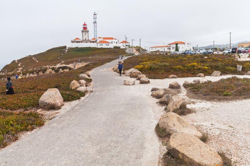 Phare Cabo DA Roca, Portugal photo stock