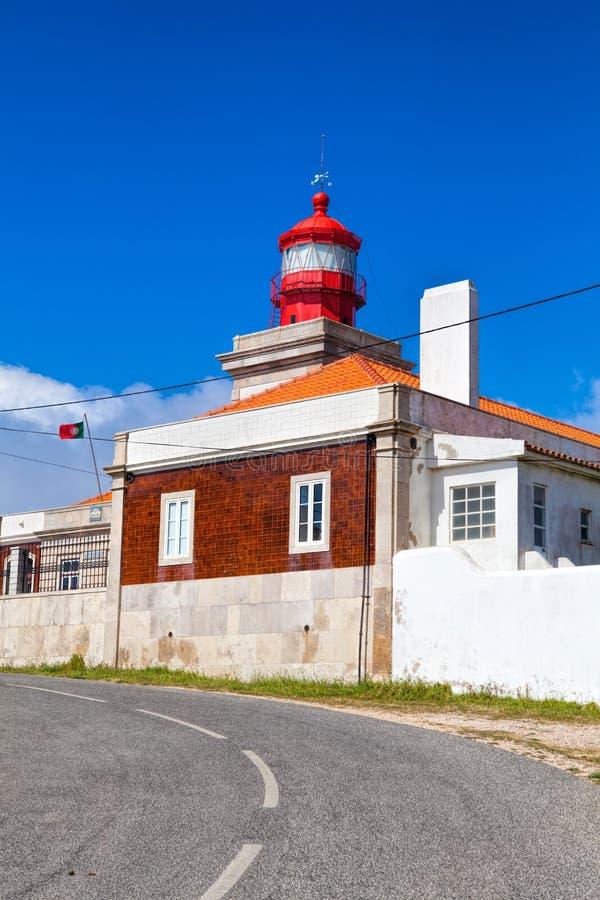 Phare chez Cabo DA Roca, Portugal photographie stock