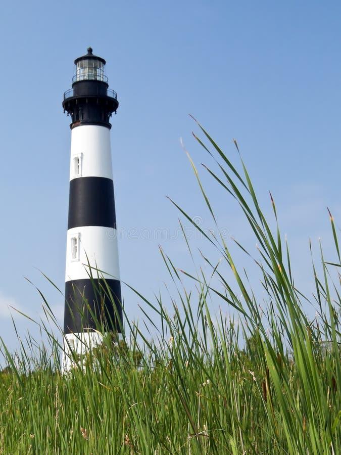 Phare d'île de Bodie, côtés extérieurs, Caroline photographie stock