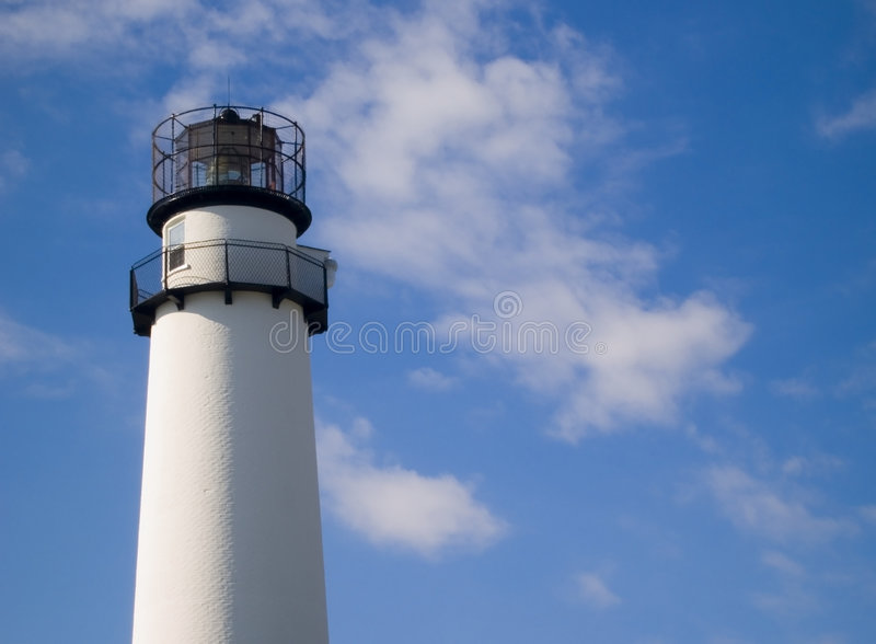 Phare d'île de Fenwick photographie stock