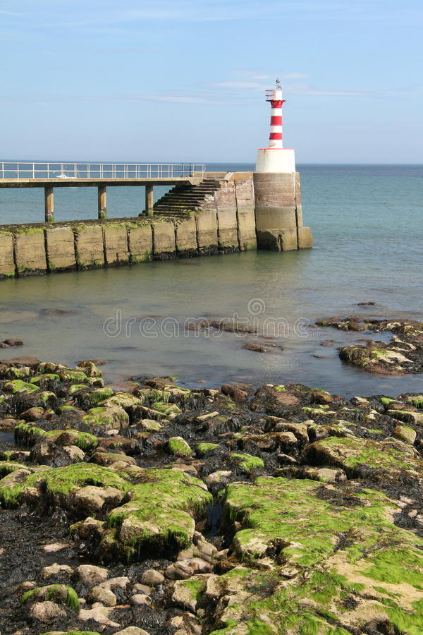 Phare d'amble photographie stock