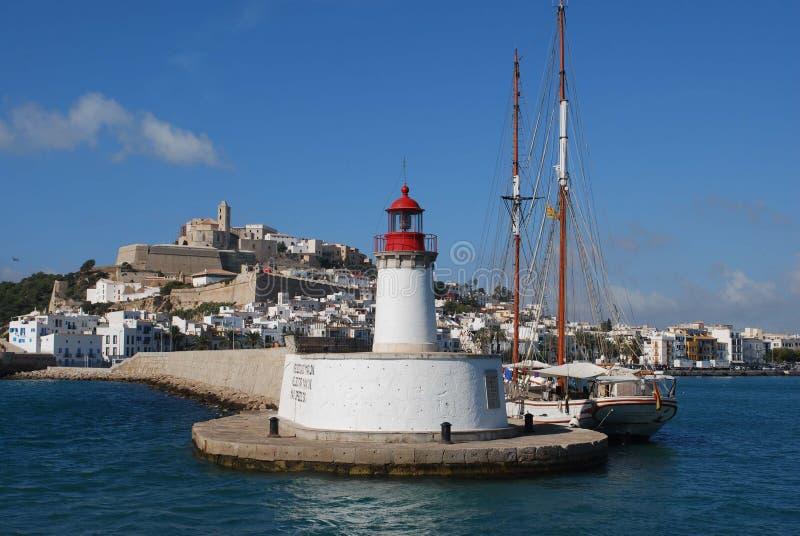 Phare d'Ibiza photo libre de droits
