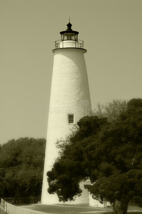 Phare d'Ocracoke photo libre de droits